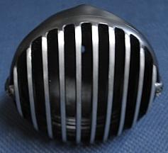 部品屋K&W クライムシーンチョッパーズ製ヘッドライト ブラック タイプ:ボディーのみ