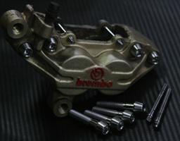 TITANIUM64 チタニウム64 ブレーキパッドピン・キャリパーブリッジボルトセット RZV500