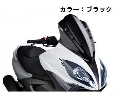 Puig プーチ V-TECH スポーツ スクリーン カラー:ダークスモーク XCITING 500