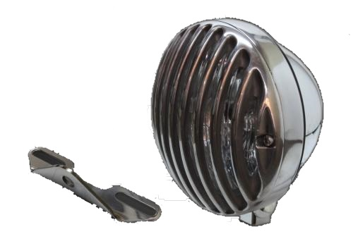 ガレージT&F 5.75インチバードゲージヘッドライト&ライトステーキット タイプB イントルーダークラシック400