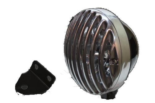 ガレージT&F 5.75インチバードゲージヘッドライト&ライトステーキット タイプC SR400