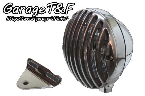 ガレージT&F 5.75インチバードゲージヘッドライト&ライトステーキット タイプA ドラッグスター 250