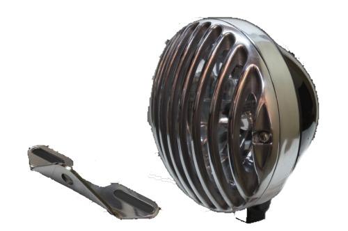 ガレージT&F 5.75インチバードゲージヘッドライト&ライトステーキット タイプB ドラッグスター1100クラシック ドラッグスター1100