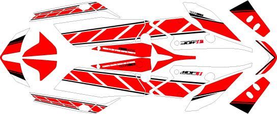 【ポイント5倍開催中!!】【クーポンが使える!】 MDF エムディーエフ ステッカー・デカール 車種別グラフィックデカールキット FZ1 FAZER ストロボ ■コンプリートデカール(フルセット) FZ1フェザー
