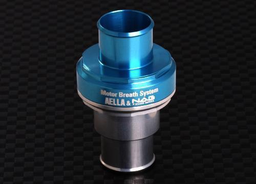 AELLA アエラ 減圧バルブ類 クランクケース内圧コントロールバルブ(BMW Φ16用) カラー:ブルー/ホワイト F650 F800 R1100 R1150 R1200GS R1200R R1200RS R1200RT 空水冷R1200エンジン