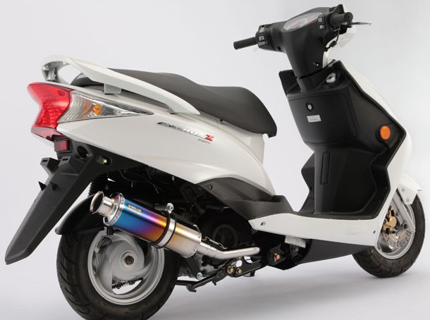 BEAMS ビームス SS300 フルエキゾーストマフラー サイレンサー:チタン シグナスZ