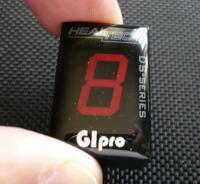 HEALTECH ELECTRONICS ヒールテックエレクトロニクス スズキ GIpro DT-S01ギアインジケーター レッド ブルバードM109R (イントルーダーM1800R/VZR1800)