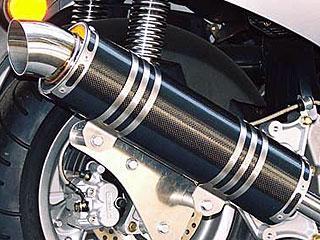 RSヨコタ レーシングショップヨコタ フルエキゾーストマフラー RSYリトルボムブラックカーボン:フォーサイトSE/EX(MF04)用マフラー FORESIGHT [フォーサイト] EX FORESIGHT [フォーサイト] SE