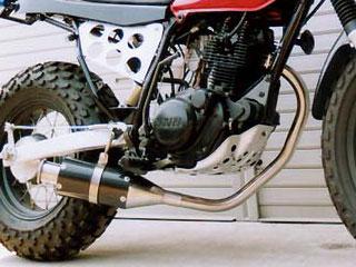RSヨコタ レーシングショップヨコタ フルエキゾーストマフラー RSYビューティーショートカーボン:バンバン200(NH42A)用マフラー RV200 VANVAN [バンバン]