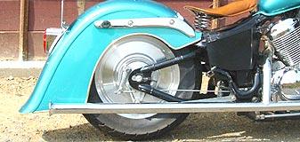 American Dreams アメリカンドリームス フルエキゾーストマフラー 2in1 軍用マフラー1型 スティード400