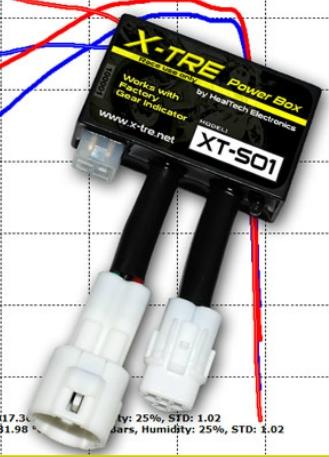 HEALTECH ELECTRONICS ヒールテックエレクトロニクス CDI・リミッターカット関連 X-TREパワーボックス ZX-10R ZX-6R