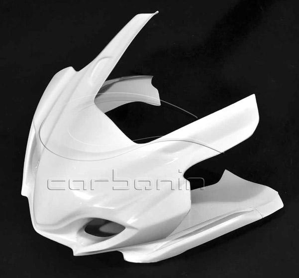 Carbonin カーボニン ヨシムラタイプ アッパーカウル レースタイプ 素材:カーボンファイバー GSX-R1000