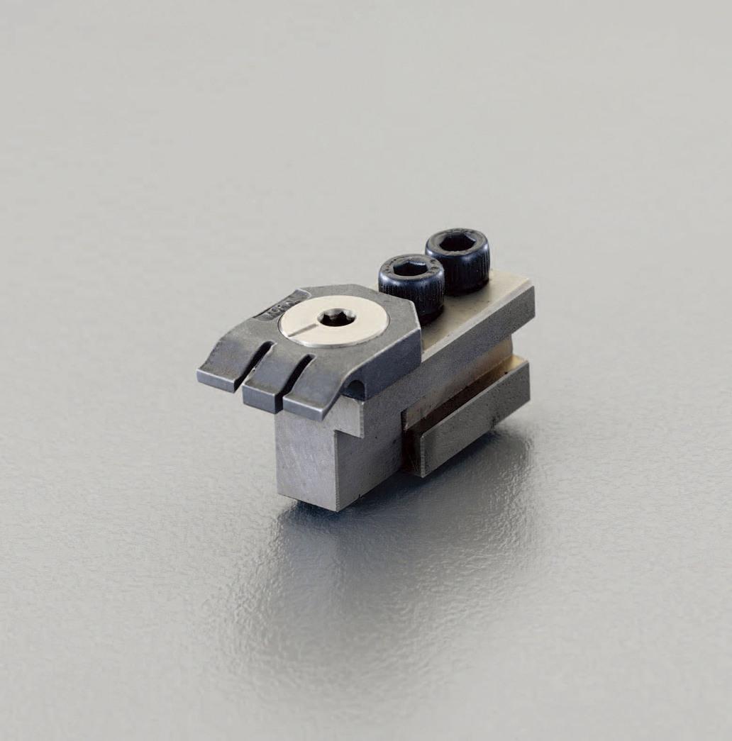 ESCO エスコ その他の工具 呼16/48x25mmフラットクランプ(2個)