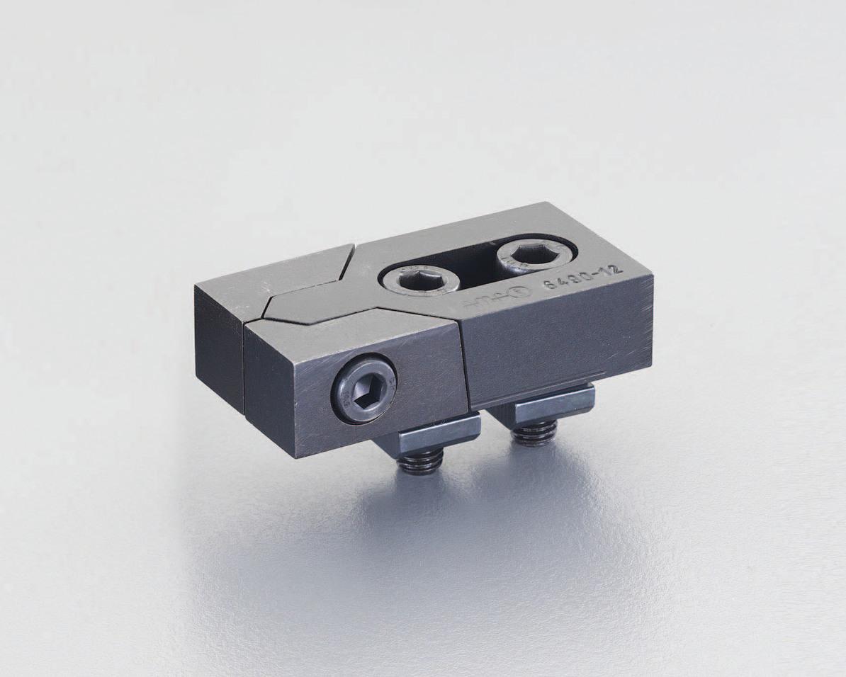 ESCO エスコ 呼24/78x140mmプルダウンクランプ(2個)
