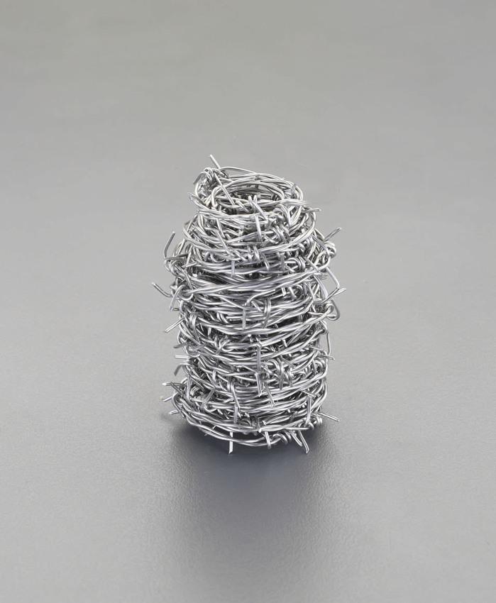 ESCO エスコ #14=1.9mmx100m有刺鉄線(ステンレス製)