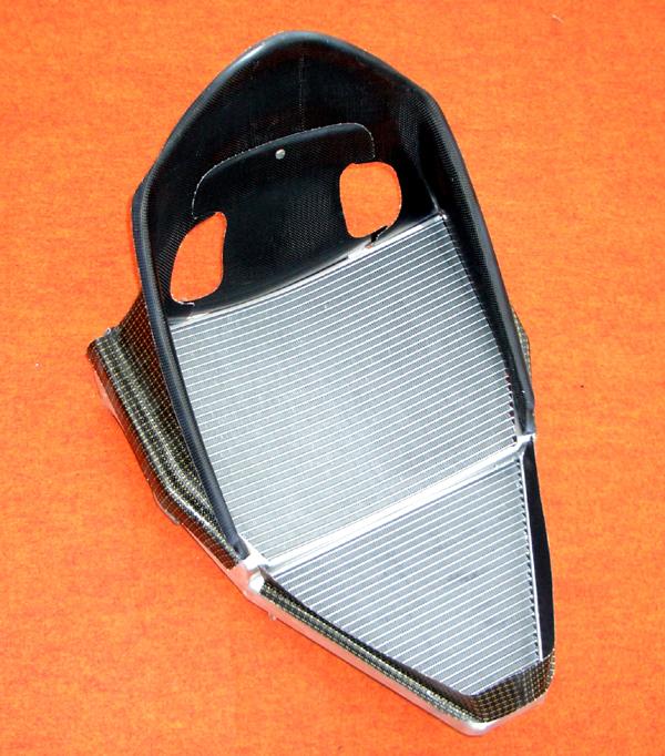 CLEVER WOLF クレバーウルフ ラジエーター関連部品 ラジエターシュラウドセット(MB製ビッグラジエター対応) YZF-R1