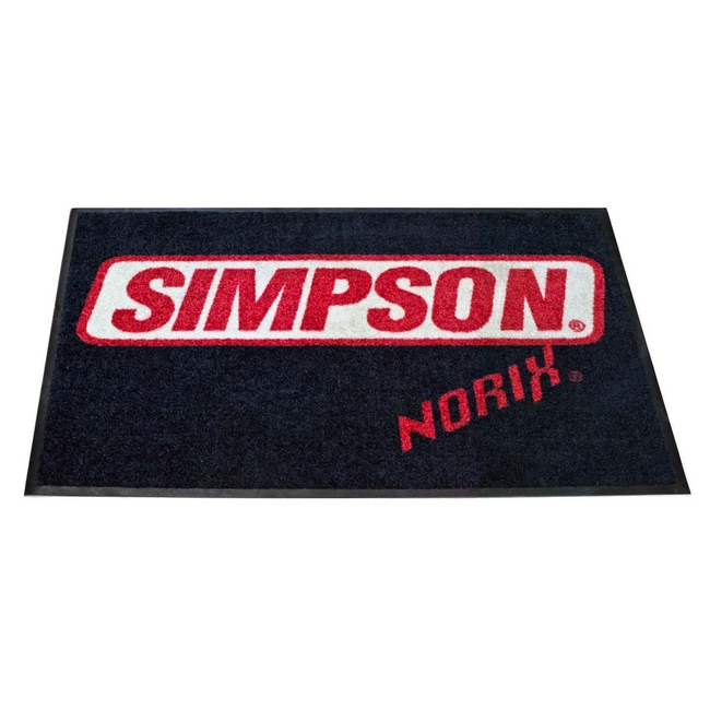 シンプソンノリックス SIMPSON(シンプソン)ロゴ フロアマット