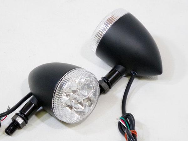 World Walk ワールドウォーク LEDウインカー:hanabi 3ファンクション:ブラックボディ