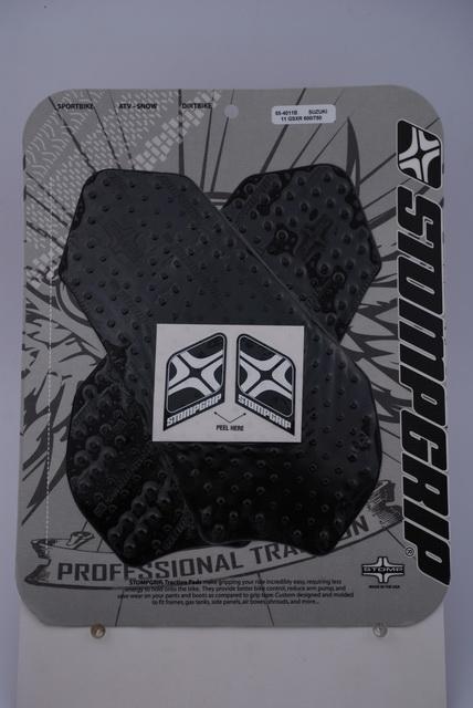 ストンプグリップ STOMPGRIP タンクパッド トラクションパッド ストリートバイクキット カラー:ブラック GSX-R750