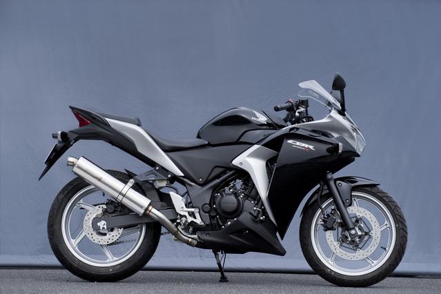 ヤマモトレーシング YAMAMOTO RACING スリップオンマフラー CBR250R SUS スリップオン TYPE-2 CBR250R (2011-)