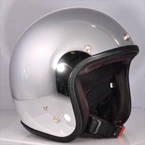 72JAM 72ジャム ジェットヘルメット CHROME クローム