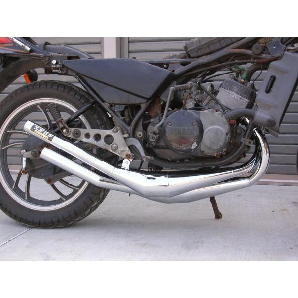 ミズノモーター MIZUNO MOTOR 【ゼス】RZ250/350用 オリジナルチャンバー タイプ:クリア塗装仕上げ RZ250 RZ350