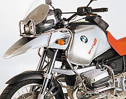 HEPCO&BECKER ヘプコ&ベッカー ガード・スライダー エンジンガード カラー:シルバー R 1150 GS R 1150 GS Adventure