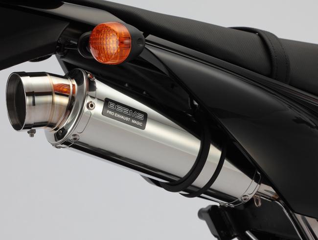 BEAMS ビームス R-EVO スリップオンマフラー サイレンサー:ステンレス Dトラッカー125