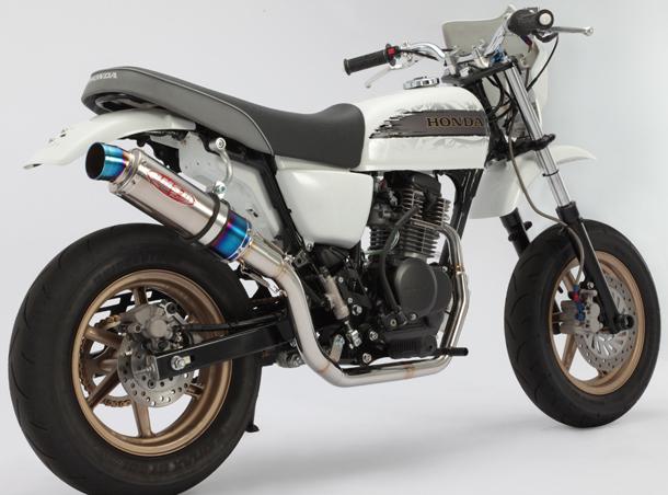 BEAMS ビームス フルエキゾーストマフラー R-EVO改 SPEC-1マフラー エイプ100 タイプD