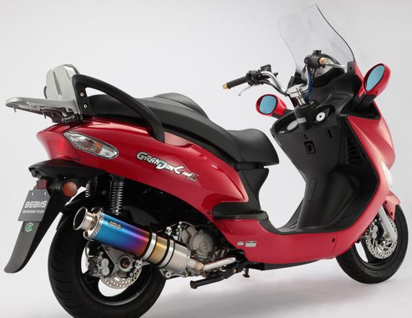 BEAMS ビームス SS400 フルエキゾーストマフラー サイレンサー:チタン GRAND DINK 150Z [グランドディンク] (SH30DD)