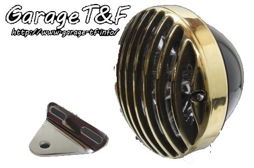ガレージT&F 5.75インチバードゲージヘッドライト&ライトステーキット タイプA スティード400 スティード400 スティード400 スティード400 VSE