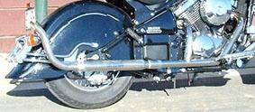 American Dreams アメリカンドリームス フルエキゾーストマフラー 2in1 パウコクラシックマフラー バルカン800 ドリフター バルカンドリフター400