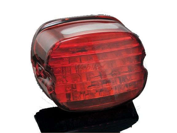 Kuryakyn クリアキン テールランプ LEDテールライト(レッド/ナンバープレート点灯用窓無し)