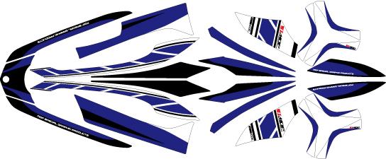 MDF エムディーエフ ステッカー・デカール 車種別グラフィックデカールキット TRICITY ストロボ ■コンプリートデカール(フルセット) トリシティ