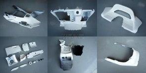 激安特価 マジェスティ250(SG03J):ウェビック 店 ONE インナー一式 GROW グロウワン カラー:シルバー フルカウル・セット外装-DIY・工具