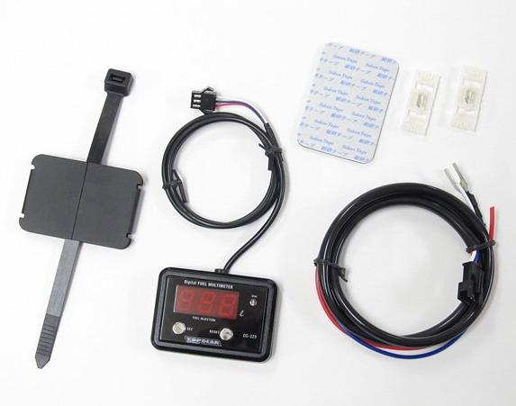 PROTEC プロテック インジケーター DG-K05 デジタルフューエルマルチメーター 車種専用キット W800