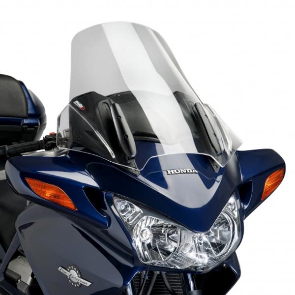 【ポイント5倍開催中!!】【クーポンが使える!】 Puig プーチ ツーリングスクリーン カラー:スモーク ST1300パンヨーロピアン