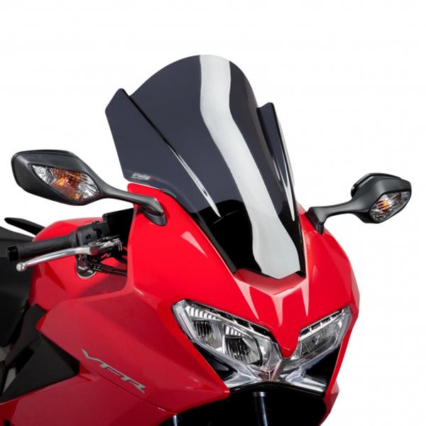 Puig プーチ ツーリングスクリーン カラー:ダークスモーク VFR800F