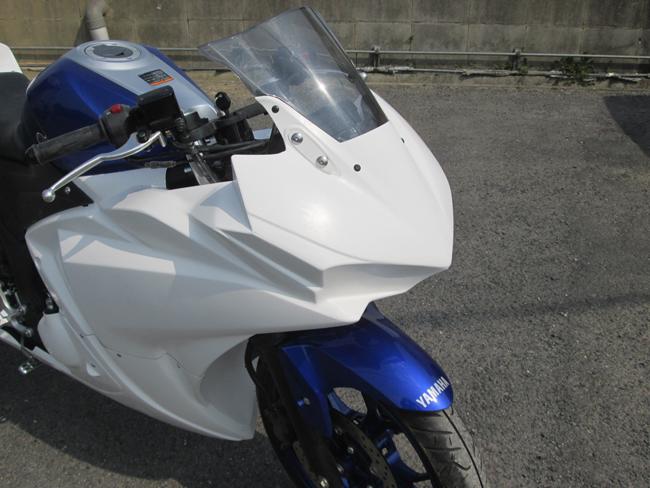 PRODACT SPORT プロダクトスポーツ アッパーカウル YZF-R25