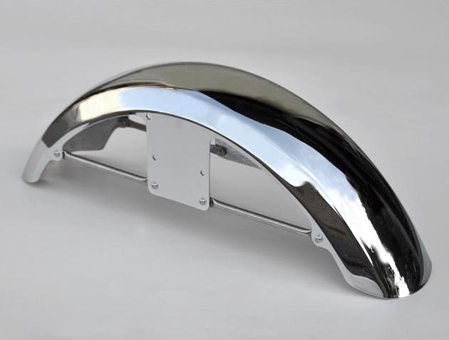 CHIC DESIGN シックデザイン フロントフェンダー スポーツフェンダー フロント カラー:グラファイトブラック CB1100 CB1100 EX