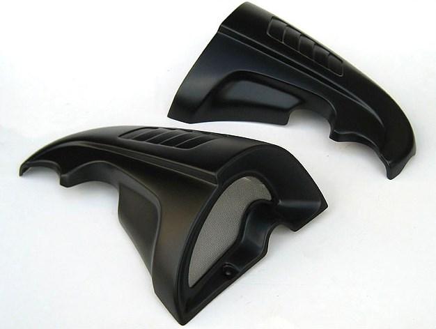 CHIC DESIGN シックデザイン サイドカバー ガイラ サイドインテーク カラー:ブラック2 Vmax -08