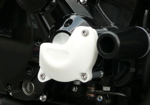 AGRAS アグラス ガード・スライダー レーシングスライダー カラー:ホワイト ZRX1200ダエグ