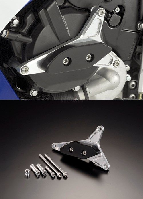AGRAS アグラス ガード・スライダー レーシングスライダー カラー:ジュラコン/ホワイト GSX-R600