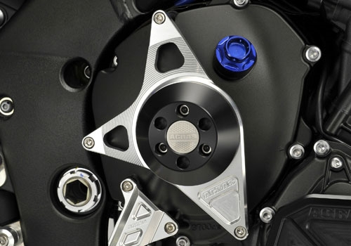 【ポイント5倍開催中!!】【クーポンが使える!】 AGRAS アグラス ガード・スライダー レーシングスライダー カラー:ジュラコン/ホワイト YZF-R1