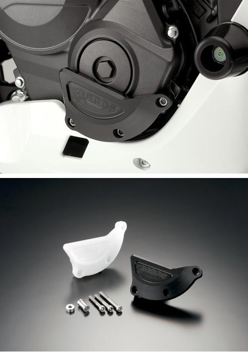 AGRAS アグラス ガード・スライダー レーシングスライダー カラー:ジュラコン/ホワイト CBR600RR