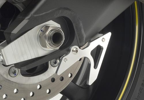 AGRAS アグラス スタンドフック リアスタンドプレート カラー:シルバー YZF-R6