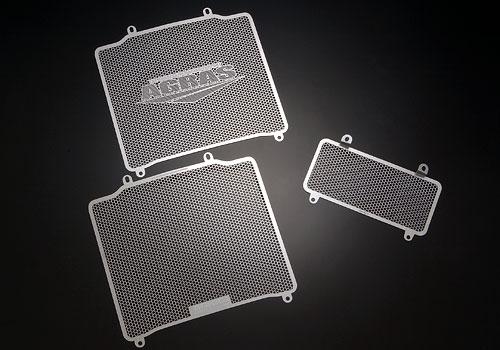 アグラス ラジエターコアガード Aタイプ:AGRASロゴ有り ZZR1100/ZX-11