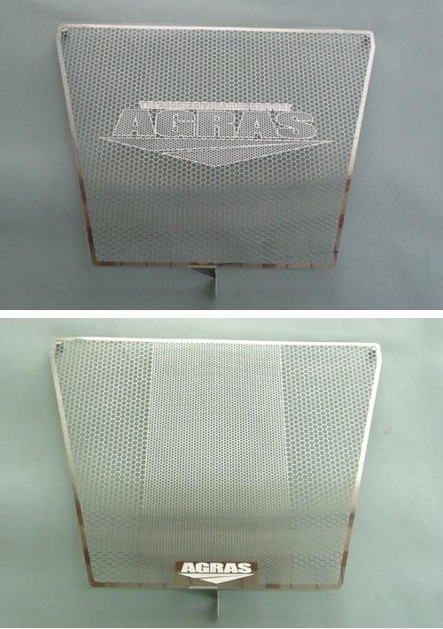 アグラス ラジエターコアガード Aタイプ:AGRASロゴ有り GSX-R600