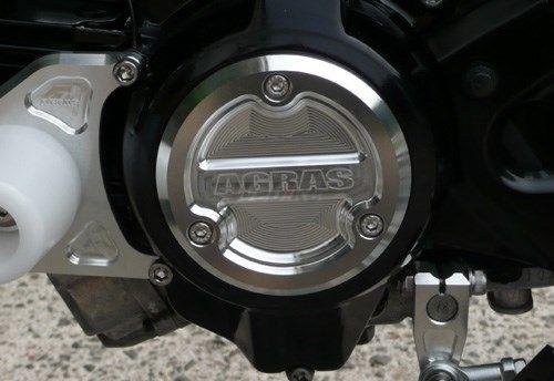AGRAS アグラス エンジンカバー クランクケースカバー カラー:ゴールド KSR110