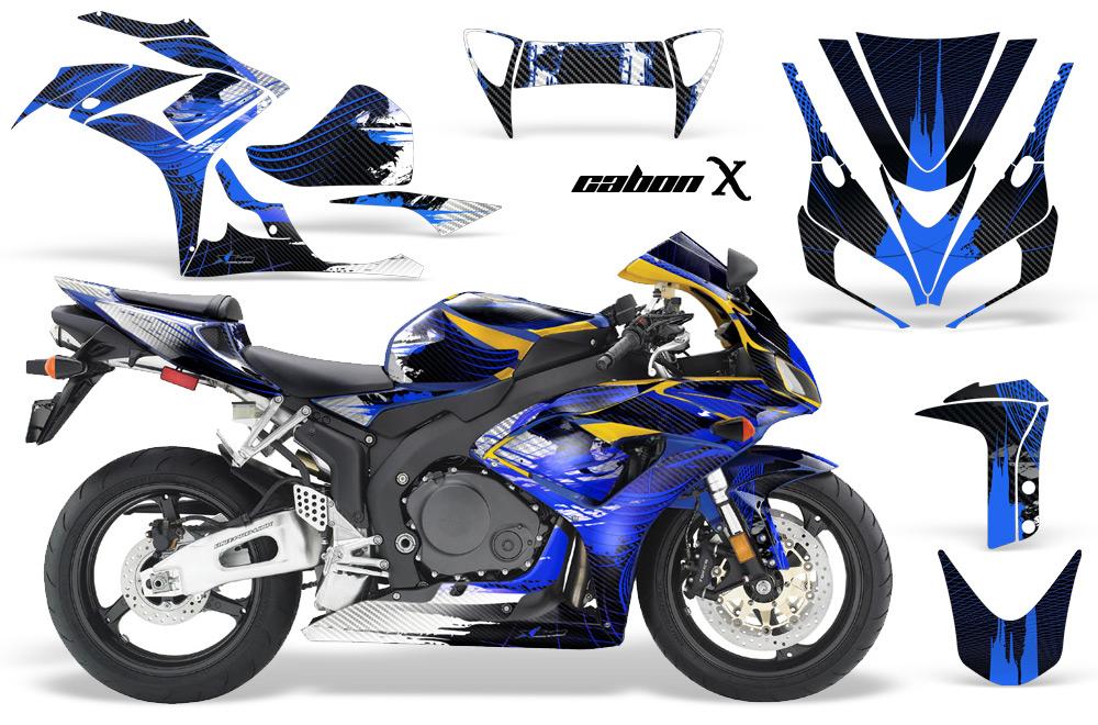 エーエムアール ステッカー・デカール AMR グラフィックデカール(スポーツバイクキット) グラフィックカラー:ブルー YZF-R1